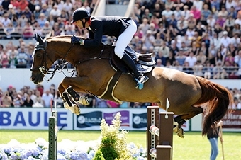 The 2018 World Equestrian Games are set to take place in Bromont/Montreal it has been announced today ©AFP/Getty Images