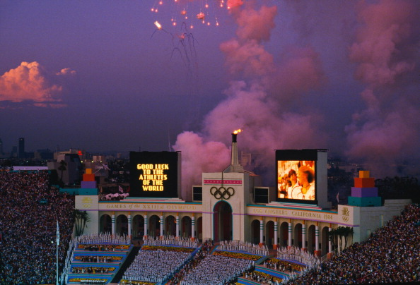 The 2024 Olympics and Paralympics will be the 40th anniversary of the Los Angeles 1984 Games ©Getty Images
