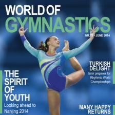 The FIG's World of Gymnastics magazine has gone digital ©FIG