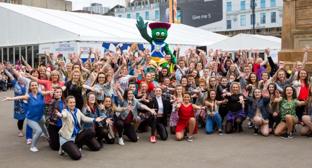 The Glasgow 2014 superstore was officially opened on George Square today ©Glasgow 2014