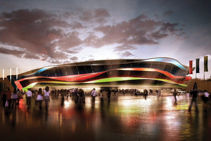 The National Gymnastics Arena will be one of the centrepiece venues for the 2015 European Games in Baku ©Baku 2015