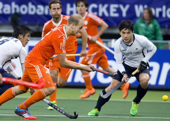 The Netherlands Hockey World Cup semi-final clash against England has been moved to avoid clashing with Brazil 2014 ©AFP/Getty Images