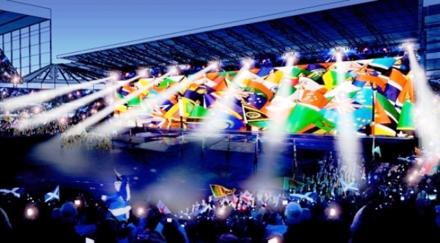 The Opening Ceremony of Glasgow 2014 will take place at Celtic Park in 50 days time ©Glasgow 2014