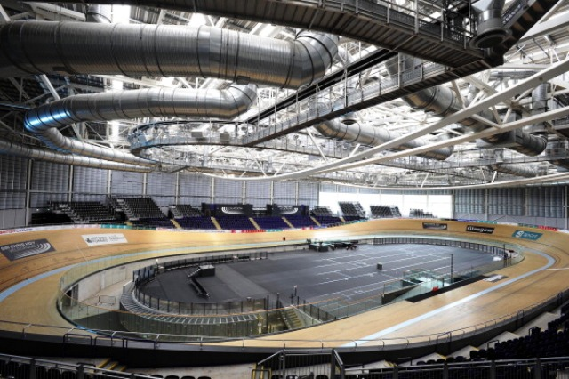 The Sir Chris Hoy Velodrome will be one of 13 sporting venues that journalists will be reporting from at Glasgow 2014 ©AFP/Getty Images
