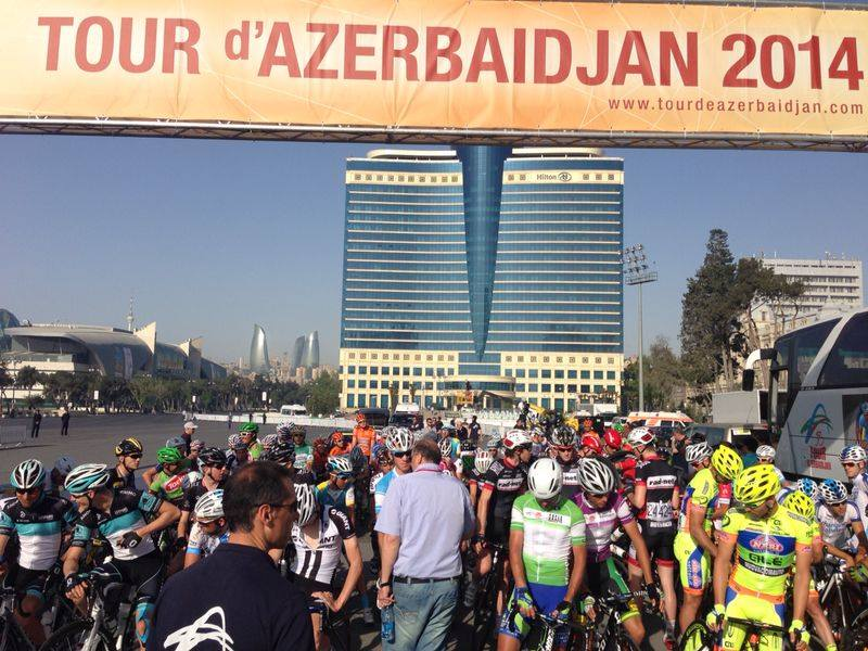 The Tour of Azerbaijan illustrated the beauty of the inaugural European Games host city ©Facebook