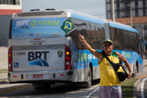 The Transcarioca has officially opened operations in Rio de Janiero ©Getty Images
