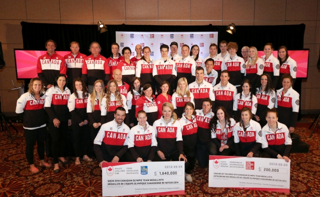 The first day of the Canadian Celebration of Excellence tour has taken place in Ottawa ©COC