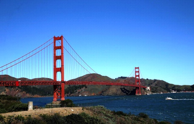 The iconic Golden Gate Bridge could provide a stunning backdrop to the 2024 Olympic and Paralympic Games should San Francisco be successful with its bid ©Getty Images