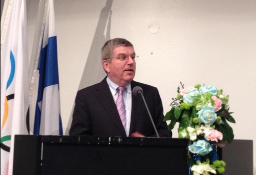 Thomas Bach insisted the IOC are still working to create more opportunities for women in sport ©Twitter