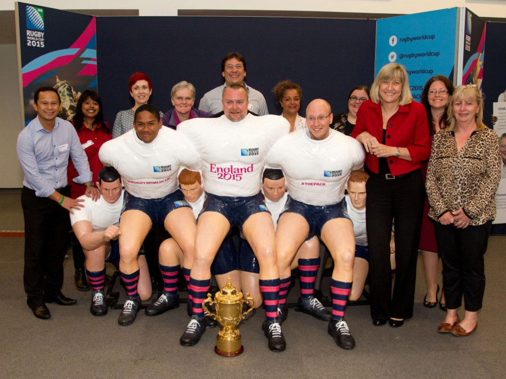 Try Outs are underway to determine the 6,000 volunteers for the 2015 Rugby World in England ©England 2015