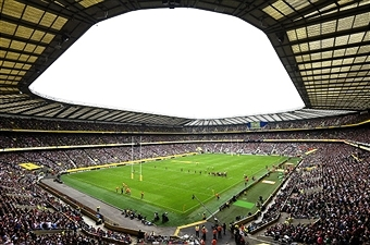 Twickenham Stadium is set to get a new LED lighting system in time for next year's Rugby World Cup ©Getty Images