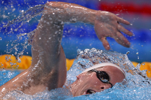 Two time Olympic medal winner Ryan Cochrane should be one Canadian star to be competing at the Trials ýAFP/Getty Images
