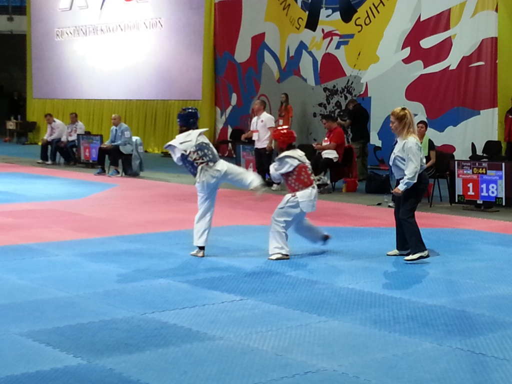 Viktoriia Marchuk added a third world title to her collection at the 5th WTF World Para-Taekwondo Championships in Moscow ©ITG
