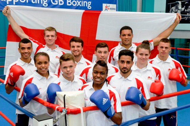 The 11 members of the Team England boxing squad were unveiled in Sheffield today ©World Wide Images
