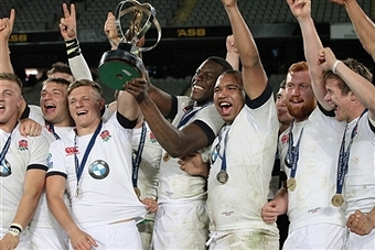 England have retained their IRB Junior World Championship title after defeating South Africa ©AFP/Getty Images