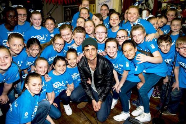 Freddie Cowan has swapped The Vaccines for East40 to help launch the Let the Games Begin charity single ©Twitter