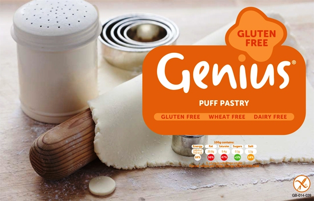 Genius products will be available as part of the Glasgow 2014 Commonwealth Games Food Charter ©Genius Gluten Free