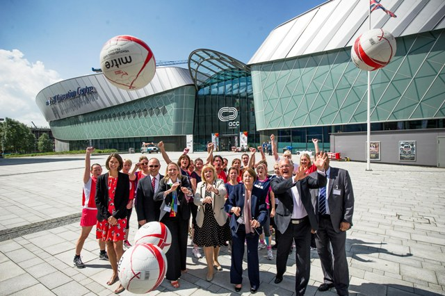 Liverpool has today launched a bid to host the 2019 Netball World Cup ©England Netball
