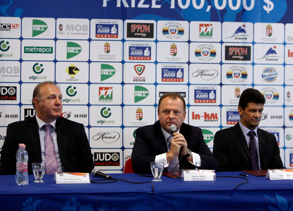 Marius Vizer, President of the International Judo Federation, has praised the inaugural Budapest Grand Prix and backed their bid to host the 2017 World Championships ©IJF