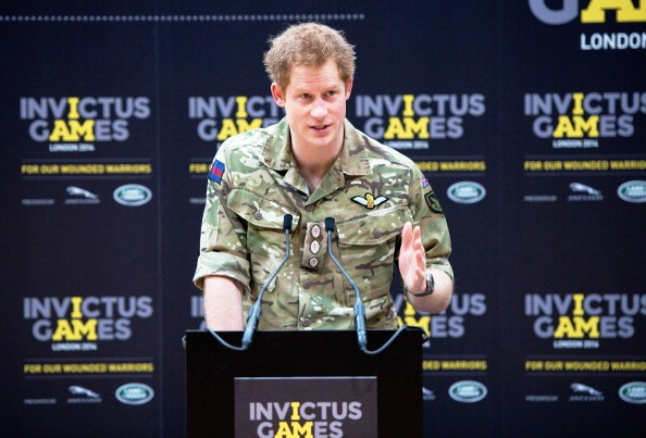More than 300 members of the Armed Forces will volunteer at the inaugural Invictus Games which are backed by Prince Harry ©Getty Images