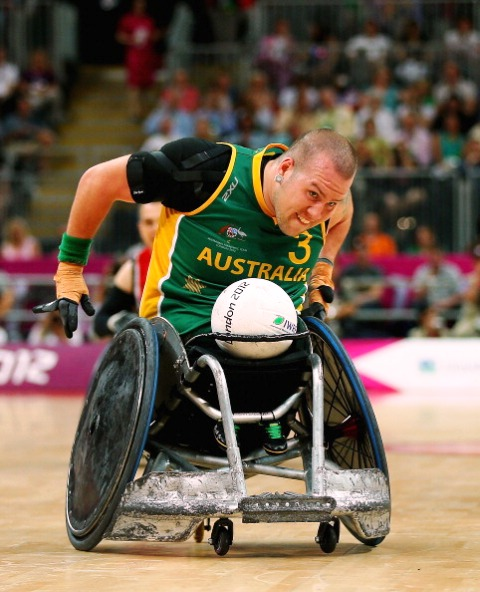 australia warm up for wheelchair rugby world championships with