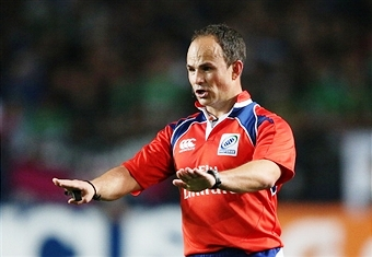 South African Jaco Peyper will take charge of the opening match of the 2014 Rugby Championship ©Getty Images