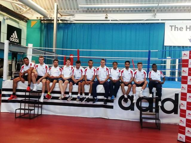 The Team England boxing squad will be aiming to better the five medals won last time out in Delhi ©ITG