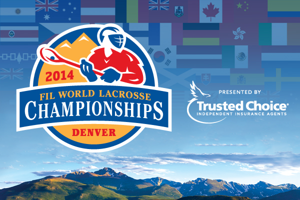 Trusted Choice has been announced as the presenting partner for next month's World Lacrosse Championships ©World Lacrosse 2014