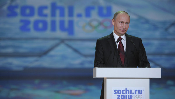 Sochi 2014 were seen as a personal success for Russian President Vladimir Putin ©AFP/Getty Images