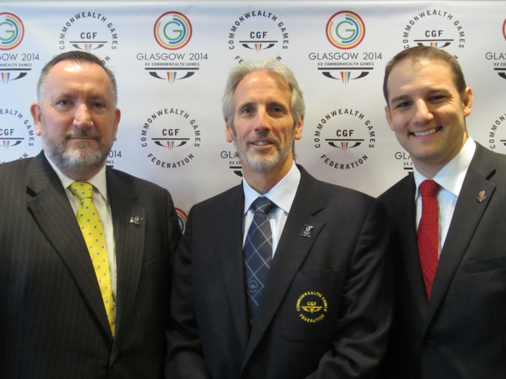 David Grevemberg will take the reigns of the Commonwealth Games Federation in November after current chief executive Mike Hooper steps down Glasgow 2014