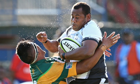 Fiji qualified for the 2015 Rugby World Cup after crushing Cook Islands in the final Oceania qualifier ©Getty Images