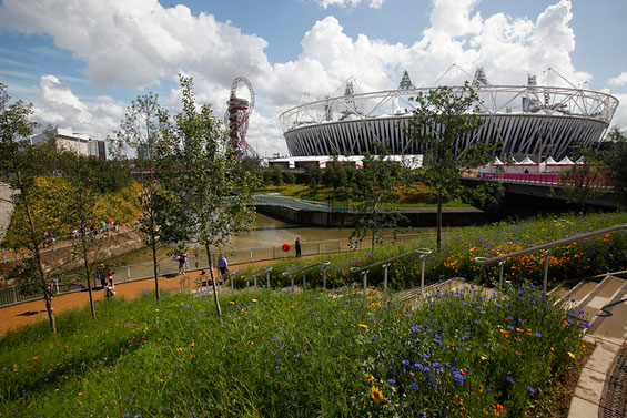 David Goldstone will oversee the London Legacy Development Corporation, which is responsible for the Queen Elizabeth Olympic Park and its legacy ©Getty Images