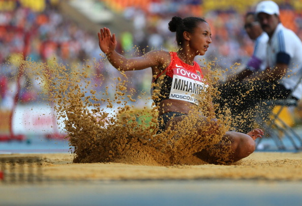 Malaika Mihambo's unexpected long jump win confirmed Germany as European Team champions ©Getty Images