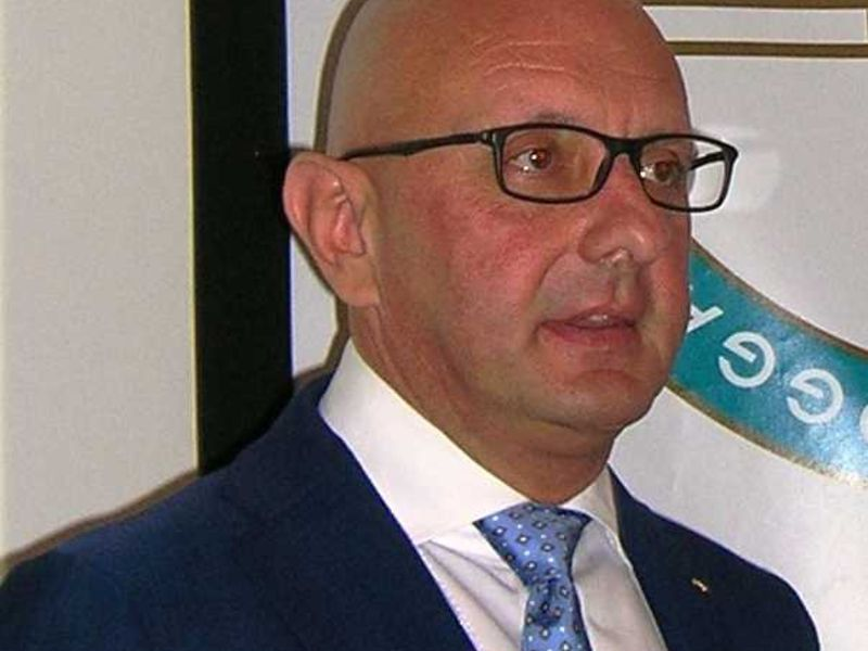 Ivo Ferriani has been voted President of the FIBT for another four years ©FIBT images