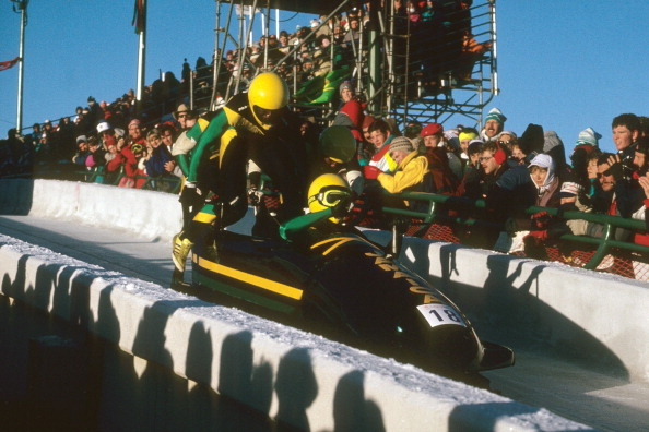 Jamaica's four-man bob makes its Olympic debut at Calgary 1988, an achievement later celebrated in the film Cool Runnings, an experiment re-elected FIBT President Ivo Ferriani is confident could be extended to Africa and Asia ©Getty Images