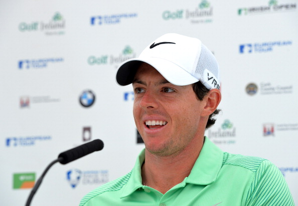 Rory McIlroy announces ahead of the Irish Open he would play for Ireland rather than Britain at the Rio 2016 Games ©Getty Images