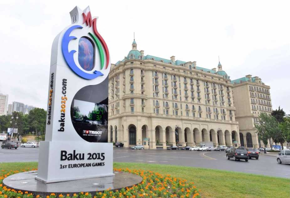 With less than a year to go until the start of the first-ever European Games there is a widespread support for the event in Azerbaijan, a survey claims ©Tissot