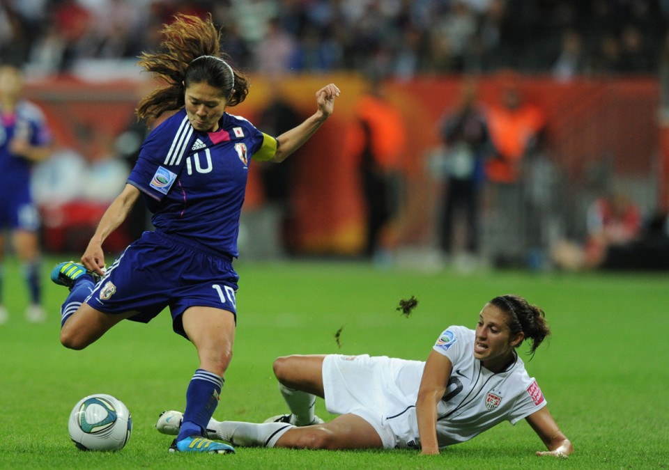 Women's football is about to enjoy a cash windfall thanks to FIFA ©AFP/Getty Images