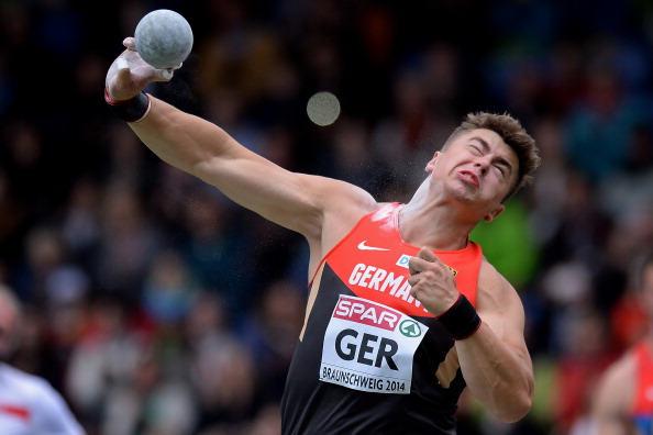 David Storl, Germany's double world shot put champion, earned maximum points on the first full day of the European Team Championships ©Getty Images