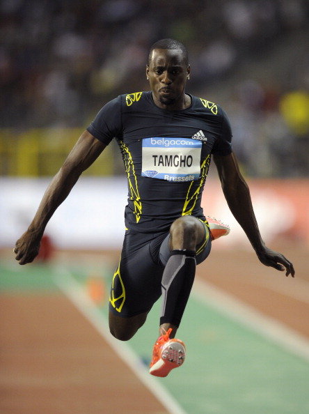 Teddy Tamgho, who became only the third triple jumper to clear 18 metres in winning last year's world title in Moscow, has 45 days to appeal against the second ban of his career ©Getty Images