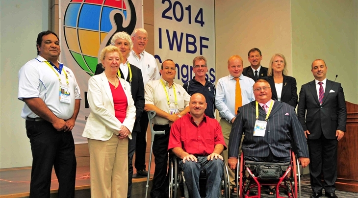 A new Executive Council has been elected by the International Wheelchair Basketball Federation ©IWBF