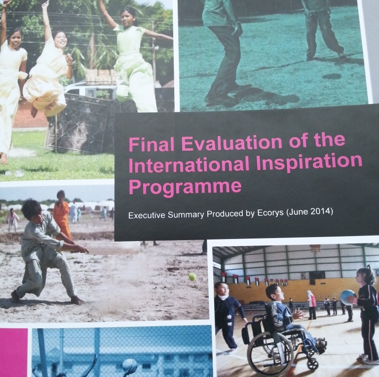"A report has found that the International Inspiration Programme has ""exceeded its targets"" in inspiring youths around the world through sport ©ITG"
