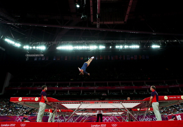 Acrobatics and aerobics will feature alongside the three established Olympic disciplines in Baku ©Getty Images