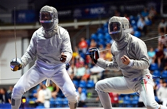 Action at the World Fencing Championships in Kazan will get underway tomorrow ©AFP/Getty Images