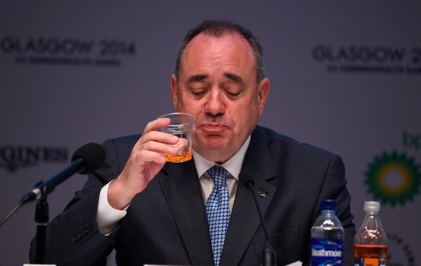 Alex Salmond insisted he will avoid the issue of Scottish Independence during Glasgow 2014 ©Getty Images