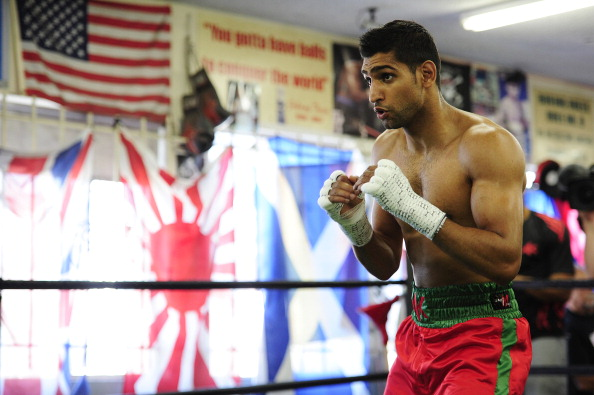 Amir Khan's gym will be a training base for Pakistan's boxers, as they gear up for competition in Glasgow ©Getty Images