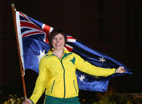 Anna Meares will carry the Australian flag at Glasgow 2014 ©Getty Images