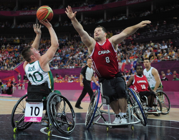 Australia went one better than the silver medal they won at the London 2012 Paralympic Games ©Getty Images