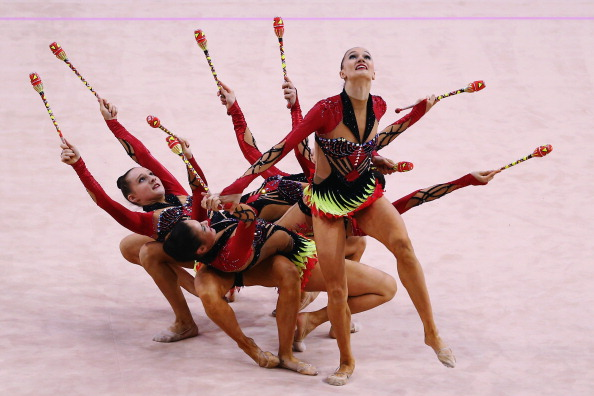 Azerbaijani rhythmic gymnasts will be hoping to perform well on home turf in Baku ©Getty Images