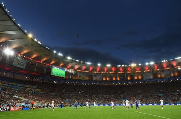 The great success of the FIFA World Cup has helped reassure the IOC over Rio 2016 ©Getty Images